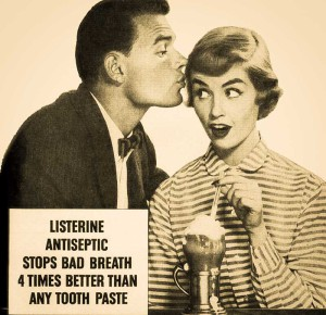Listerine bad breath (Classic-Film-on-flickr)