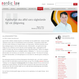 Nordic Law bloggar