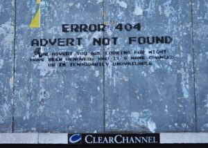 Error 404 advert not found (flickr-user-id-iom-cc-by-nc)
