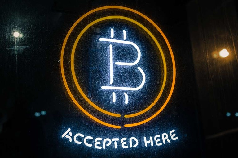 Bitcoin accepted here (photo credit: thelastminute-on-flickr-cc-by-nc)